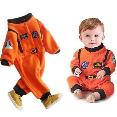 Baby Boys Nasa Astronaut Costumes Infant Halloween Costume Solid Newborn Cotton
