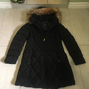 Women's black winter jacket