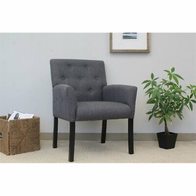 boss taylor button tufted accent chair in