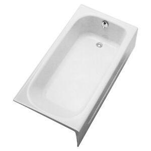 TOTO FBY1515RP01 Enameled Cast Iron Bathtub Right Hand Drain