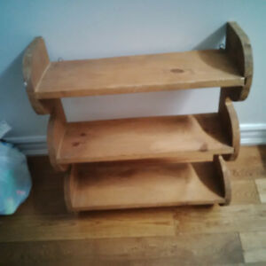 Antique Solid Wood Shelf