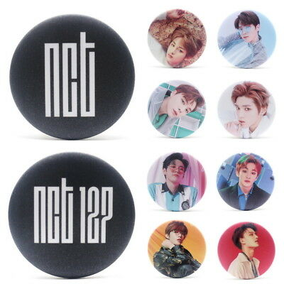 KPOP NCT NCT127 Brooch Pin Badge Button For Clothes Hat Backpack - Cloths Pin