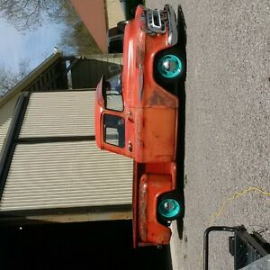 1957 pick up lowered original patena paint
