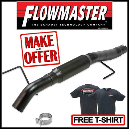 "07-14 Chevy GMC 1500 2.5/"" Dual Exhaust Flowmaster Super 10 Corner Exit Black Tip"