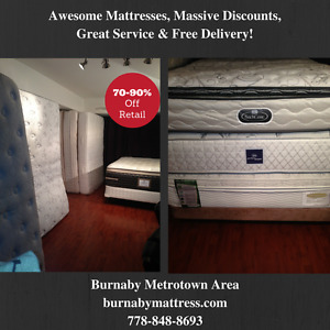 Amazing,Like New, Clean Used Mattresses at Amazing Prices
