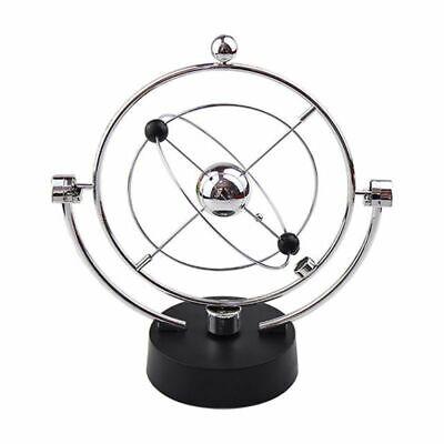 Newtons Cradle Metal Balance Ball Physics Science Pendulum Desk Decor Toys Hot