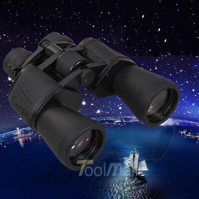 180 x 100 Zoom Day Night Vision Outdoor Travel Binoculars Hunting Telescope+Case