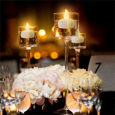 12pcs Waterproof LED Floating Tea Light Flameless Smokeless Candle Wedding Party](Floating Centerpieces)