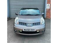 2008 58 Nissan Note 1.6 Acenta AUTOMATIC + LOW MILEAGE + FREE 1 YEAR MOT