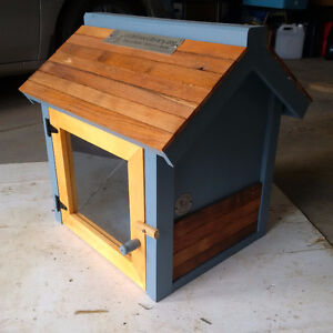 Little Free Library / Outdoor Library (Blue Tobacco Barn)