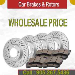 Brake prices @ the best rate - Brand new Pads and Rotors.