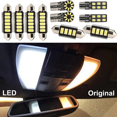 10X Für Mercedes SLK R171 Benz MB Klasse Cabrio SMD LED Innenbeleuchtung Set