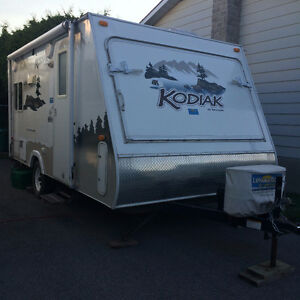Ultra Lite Travel Trailer with pop out