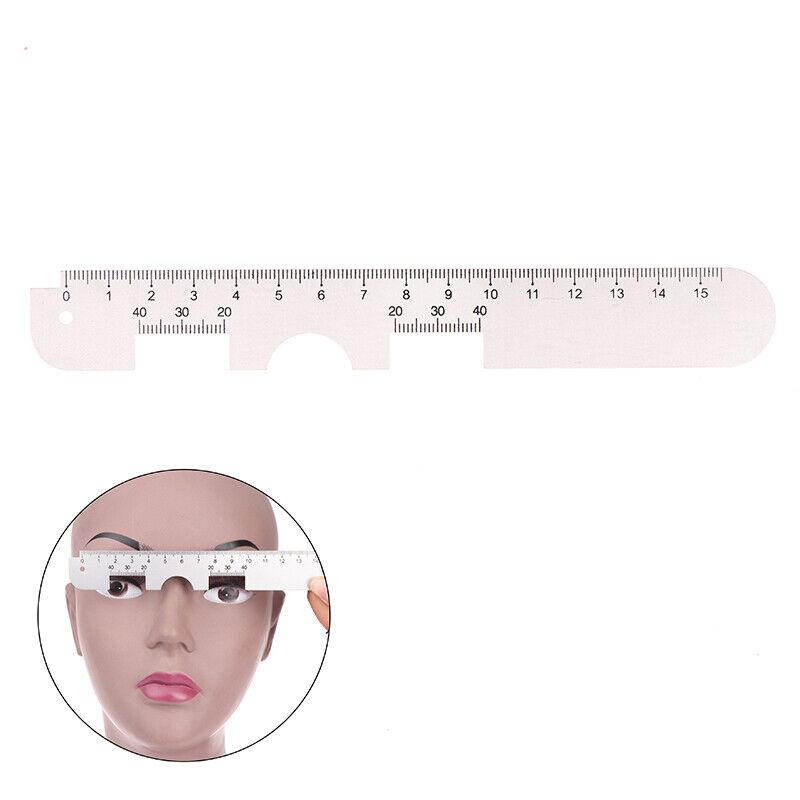 1X Aluminum Measure Optical Vernier PD Ruler Pupil Distance Meter Eye OphthaQ TM