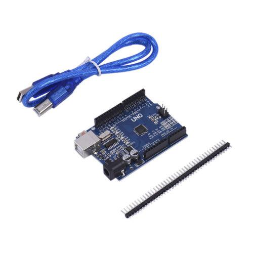 UNO R3 ATmega328P CH340G Mini USB Board For Arduino & USB Cable & Row-Pin Set