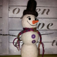 Make your Own - Needle Felted Snowman Dec 7