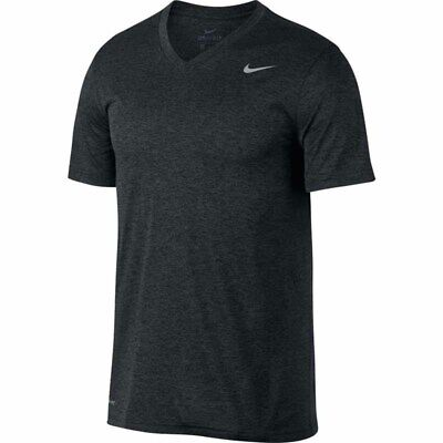Nike Men's LEGEND 2.0 V Neck Training T-Shirt Black/Anthracite 718839-014 d
