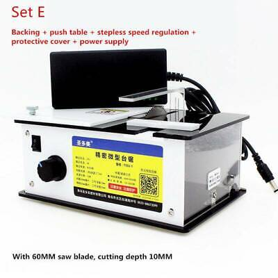 Mini Precision Table Saw Handmade Woodworking Bench Diy Bench Cutter 8000rpm