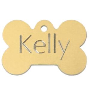 Médaille identification gravée pour chat et chien