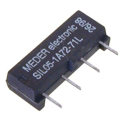 SIL051-A7271L SIL-Reed-Relais 5V= 1xEIN 500 Ohm ohne Diode MEDER SIA05-500