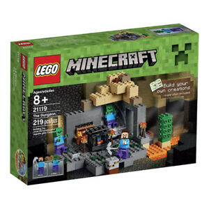 LEGO MINECRAFT THE DUNGEON #21119 NEUF 219 PIÈCES année 2015