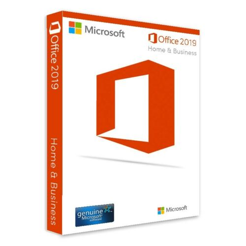 Microsoft Office Home & Business 2019 1 User Activation Key 1 PC