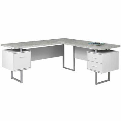 Monarch Specialties I 7307 Computer Desk Left or Right Facin