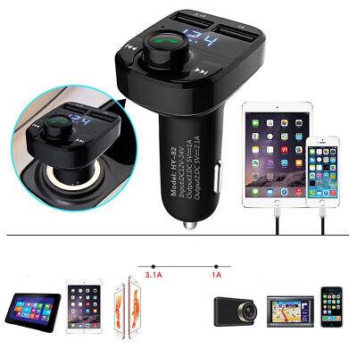 Wireless Bluetooth FM Transmitter Auto MP3 Player Dual 2 USB Car Kit Hands-free Fm Hands Free Car