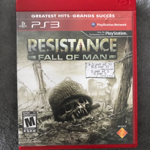 PS3 / Playstation 3 Game: RESISTANCE: FALL OF MAN