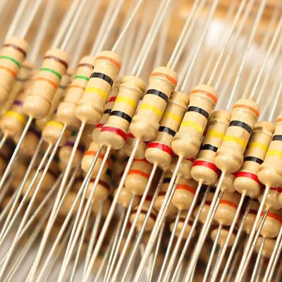 1000pcs 110m 12w 100 Values Assorted Carbon Film Resistors Assortment Kit