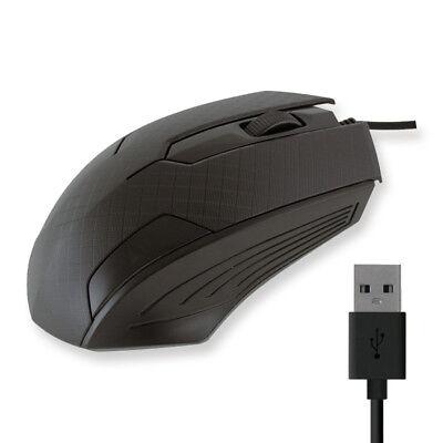 Ratón mouse usb con cable pc ordenador gaming ergonómico raton