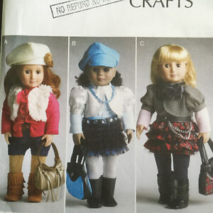 "Mccalls sewing patterns for American Girl and 18"" dolls Peterborough Peterborough Area image 3"
