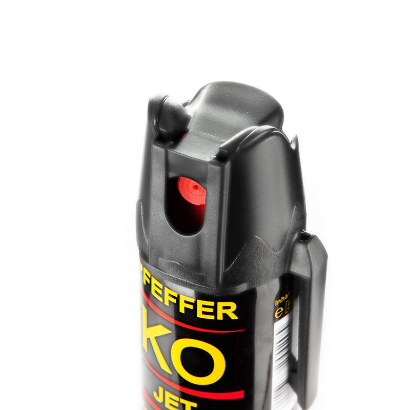 Ballistol KO JET Pfeffer Spray 40ml zur Tierabwehr mit Gürtelclip Sprühstrahl 5m