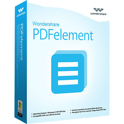 Wondershare PDFelement ohne OCR WIN 5.0 lifetime Download nur 24,99 statt 69,95!