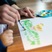 Family Paint Night - A fun activity for the whole family!