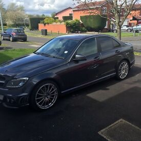 C63 replica Mercedes-Benz C200 CDI BlueEFFICIENCY SE EXECUTIVE