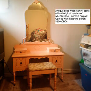 Antique vanity for sale