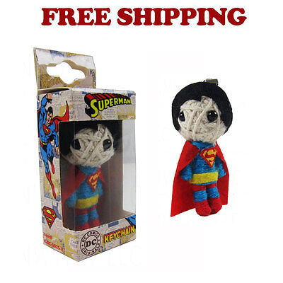 Brand New DC Comic Superman String Doll VooDoo Doll Key Chain Cell Phone Strap](Hello Kitty Voodoo Doll)