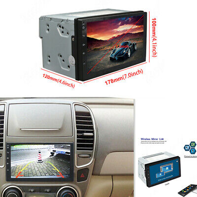 Car Radio Built-In GPS Navigation 7In Monitor 2 Din Android 8.0 Quad-Core...