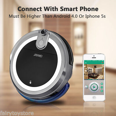 JISIWEI I3 Quick Automaton Vacuum Cleaner Digital Impulsive Robotic Cleaning Mop US