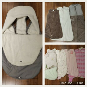 Jolly Jumper Stroller Sack & baby Sleepsacks!