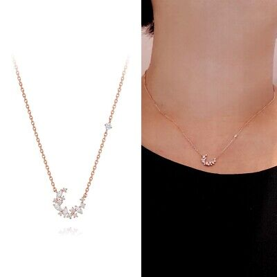 [STONE HENGE] SILVER 925 Moonlight Rose Gold Necklace K1278 with Case K-beauty