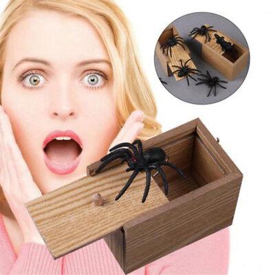 Lustige Scare Box Spinne Prank - Holz Scarebox Witz Für Halloween-Party-Spielzeu