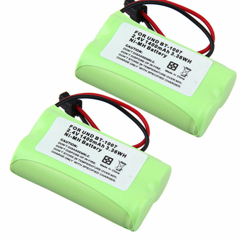 2X Cordless Home Phone BT-1007 Battery For Uniden DECT 6.0 models BBTY0624001