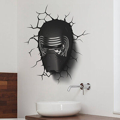 Star Wars Decorations Diy (US Seller 3D Star Wars Removable Vinyl Quote DIY Wall Sticker Room Decor)