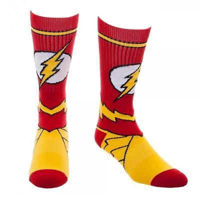The Flash Costume Crew Socks](Sock Costume)