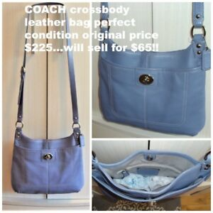 COACH leather crossbody bag and other items for sale