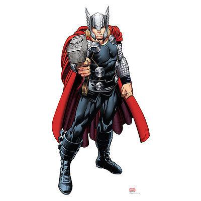 THOR Marvel Avengers Assemble Lifesize CARDBOARD CUTOUT Standee Standup Poster