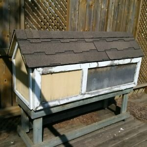 Custom made outdoor Rabbit or small animal hutch
