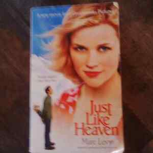 Just like Heaven – Marc Levy - $4.00